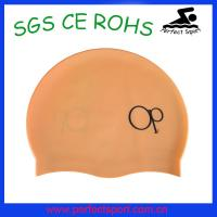 Best Latest new hot super soft matte surface silicone swim cap wholesale