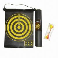 Best Roll-up Magnetic Dartboard, with Paper Cylinder, Sized 340 x 300 x 0.6mm wholesale