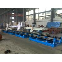 15T Automatic Movable Welding Turning Roll With Import Rubber Roller