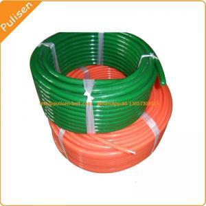 Polyurethane Green Rough Round Belt for Ceramic glazing line round belt V-belt super grip belt