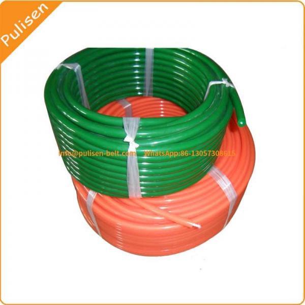Cheap Polyurethane Green Rough Round Belt for Ceramic glazing line round belt V-belt super grip belt for sale
