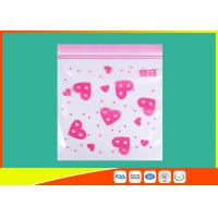 Cheap Waterproof Ldpe Resealable Small Ziplock Bags Colored Lip Printed Customized for sale