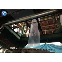 Best 160mm Small Width LDPE Tubular Packaging Transparent Packaging Plastic Film Rolls wholesale