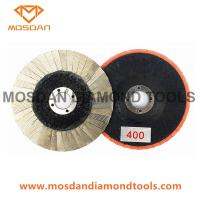 Buy cheap 4'' Electroplated Diamond Abrasive Flap Disc for Marble Granite from wholesalers