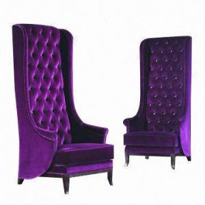 Best Royal Elegant Hotel Lobby High Back/Luxury Decoration Chair wholesale