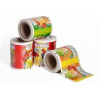 Cheap Printed Laminating Plastic Roll Film Packaging Roll Film Aluminum Foil Roll Of Film for sale