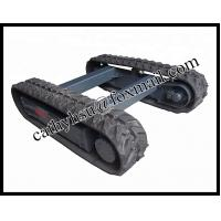 Best hot sell rubber track chassis wholesale