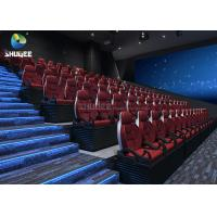 Best Large Arc Screen 5D Movie Theater For Big Commercial Scenic Spot With 104 5D Cinema Chairs wholesale
