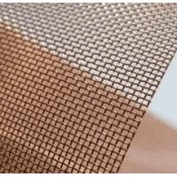 Best Red Plain / Twill Weave Copper Woven Mesh 20 Mesh For Cabinet Screen wholesale
