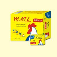 Best Mafe 10g poulet stock soup cube and cube shape wholesale