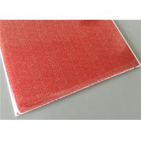 Cheap Red Transfer Design Waterproof Wall Panels Light Weight Building Material for sale
