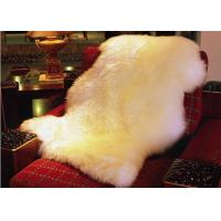 Best Real Sheepskin Rug 100% Australian Long Wool Natural White 2*3feet wholesale