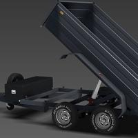 Buy cheap Tipping Trailer Single Acting Hydraulic Telescopic Cylinder Chrome 2 Stage 3 from wholesalers