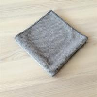 Best Grey Microfiber Extra Thickness Pearl Cloth Car Cleaning Cloth 400gsm wholesale