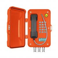 Buy cheap Weatherproof Analog Anti Explosion Telephone With LCD Display For Hazardous Areas from wholesalers