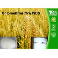 Best Chlorsulfron 75% WDG Select Herbicide Professional Weed Killer Cas No. 64902-72-3 wholesale
