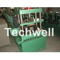 Best GCr15 Steel Roller, High Speed Shelf Roll Forming Machine For 1.8 - 2.3mm Material wholesale