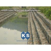 Best Heavy Zinc Coated Gabion Basket Retaining Wall 8x12cm To Protect Riverbank wholesale