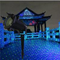 Outdoor Green+Red staitic Firefly Landscape Laser with LED patterns projector