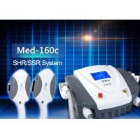 Best KES 2 Handles Medical SHR SSR Hair Removal Machine With CE Approval wholesale
