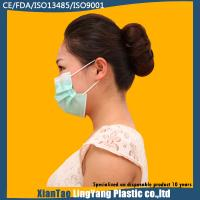Best Disposable Hospital Nonwoven One Time Use 3 ply Blue Earloop Face Mask wholesale