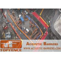 Best Temporary Sound Barriers Fencing for Construction Site Reduction of Noise to Protect Worker Health wholesale