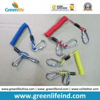 Best Customized Carabiner Colorful Tool Coiled Tether Cords wholesale