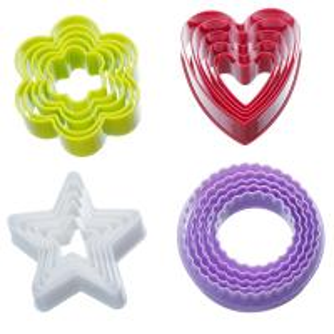Best Plastic Colorful Cookie Cutter Set - 20 Piece 3D Bakeware Cookie Tools Set wholesale