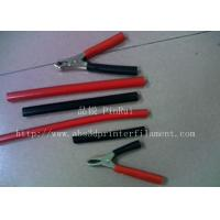 Best Red / Black Plastic Flexible Hose For Alligator Clip , Wire Harnesses , Transformers wholesale
