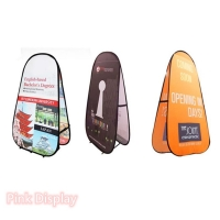 Best Outdoor Non Toxic Pink Display Pop Up Banner Stand wholesale