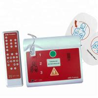 Cheap Easy And Convenient First Aid Defibrillator With Separate Voice Card for sale