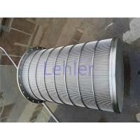 Best Lehler Wedge Wire Basket High - Precision Slot Opening For Starch / Sugar Industry wholesale