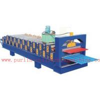 Best PLC Control Automatic Steel Roof Panel Roll Forming Machine Double Layer High Efficiency wholesale