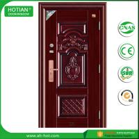 Best Latest design main gate steel security door iron gate designs with CE wholesale