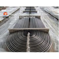 China Stainless Steel U Bend Tube ASTM A268 TP405/ ASTM A213 TP304 / TP304L / TP316L / TP316Ti / TP316H / ASTM B677 904L on sale