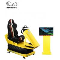 Best Interactive 9D VR Car Racing Simulator For Adult / Children  1 Year Warranty wholesale