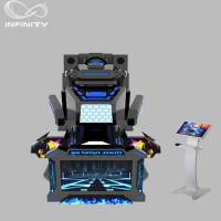 Best 1 Seat Real Track VR Racing Simulator / 360 Degree Electric Motion  Car Racing Machine wholesale