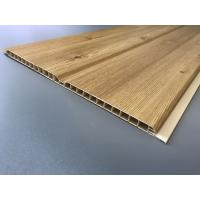 Cheap Middle Groove Plastic Laminate Panels Easy Clean 25cm × 9mm Grained Type for sale