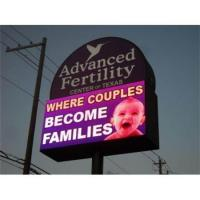 Best Digital Full Color Advertising Electronic Outdoor LED Road Sign wholesale