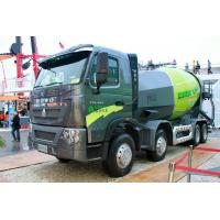 Best 12m³ Cubage Mixer Concrete Truck With ZF8118 Steering Gear Box wholesale