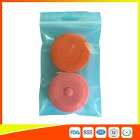 Best Reusable Zip Lock Bags Vacuum Seal With Hanging Hole For Sample Packing wholesale
