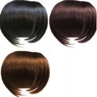Best Black and Brown Tangle Free 100%  Remy Virgin Hair Fringe Wig wholesale