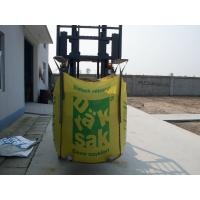 Best U-panel Color printing big bag , pp super sacks FIBC bulk bag 1500kg wholesale