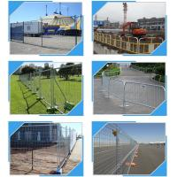 Best Building Site Temporary Fencing Panels , Temporary Event Fencing 32mm 38mm Frame Dia wholesale