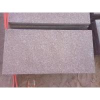 China 100mm, 60mm Red  Porphyry flamed granite paving stone pavers for sale