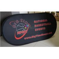 Best Custom Outdoor Portable Horizontal  A - Frame Display , Sports Pop up Banner wholesale