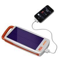 China Portable Solar Charger with LED Light on sale