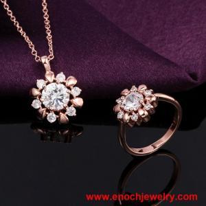 Best Wholesale China Supplier White Gemstone Birthday Gift for Women Gold wholesale