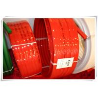 Buy cheap Urethane tranmission red Polyurethane V Belt for driving , wear resistant from wholesalers
