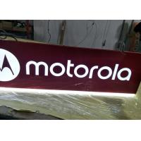 Best Motorola  Rectangular Shaped Sign Double Sides For Cellpone Store Hanging Sign wholesale